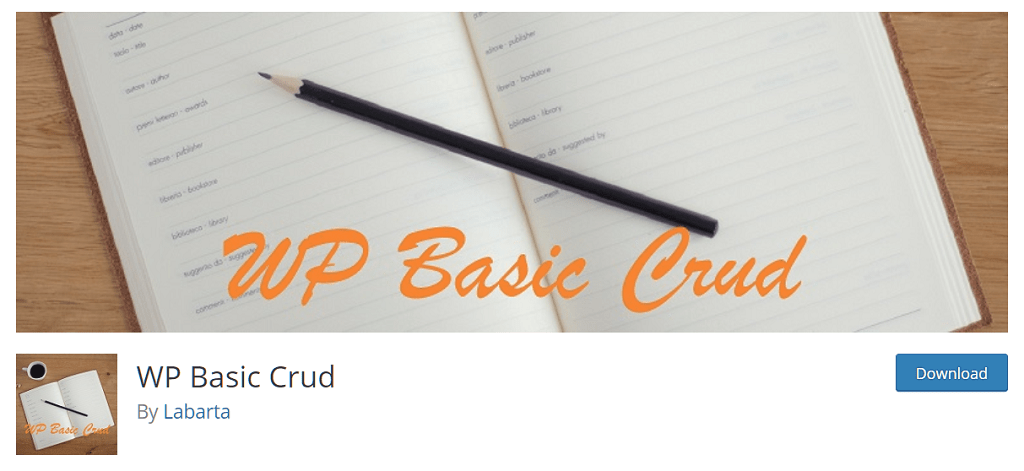 wp-basic-crud